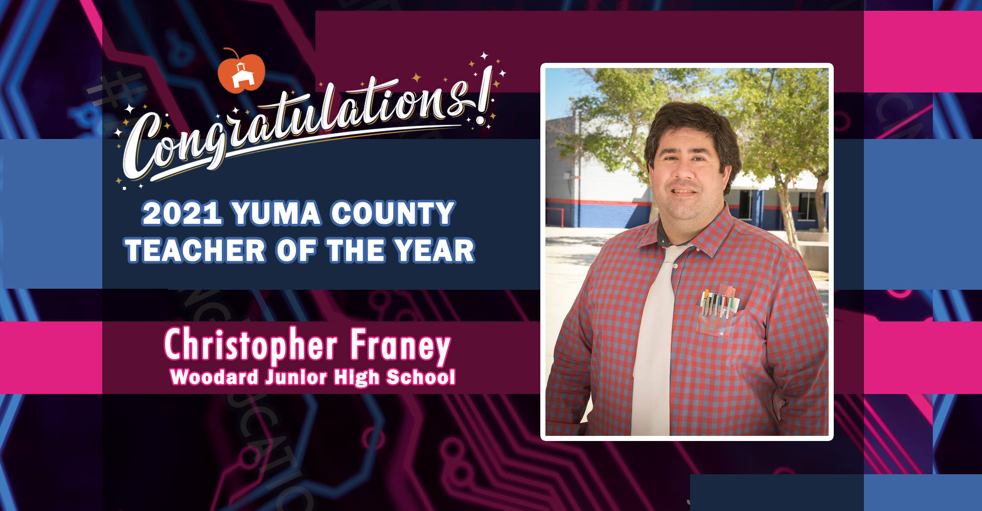 Yuma County Teacher of the Year